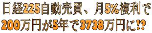 日経225専用自動売買プログラム「R_H_225」